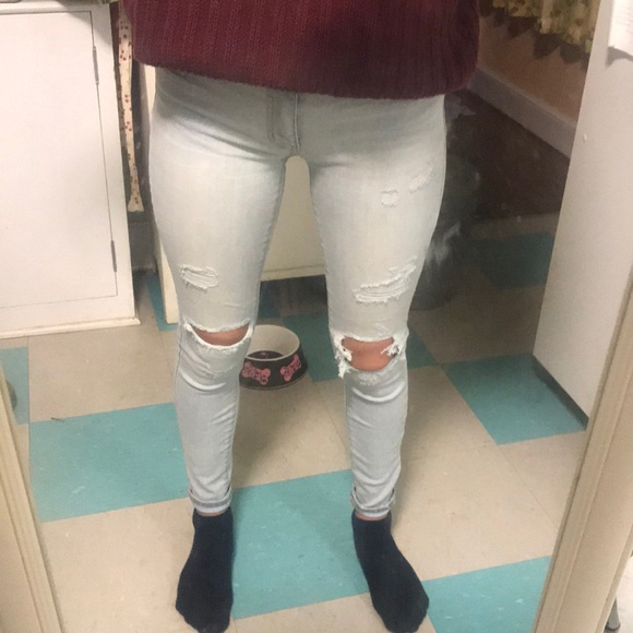 American Eagle Outfitters Denim - American Eagle Light Wash Jeggings